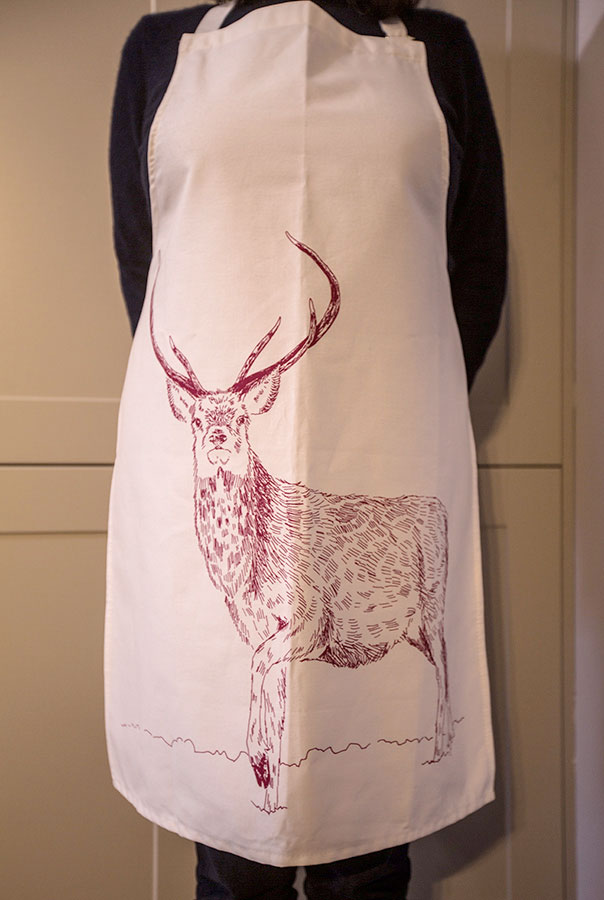 Red Stag Apron