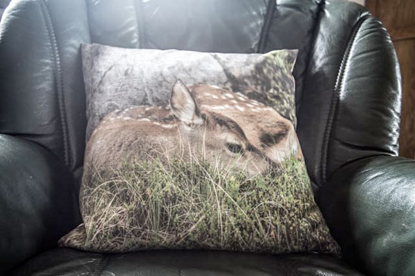 Red Deer Calf Cushion